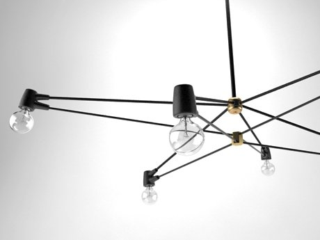 6-Arm Cord Chandelier