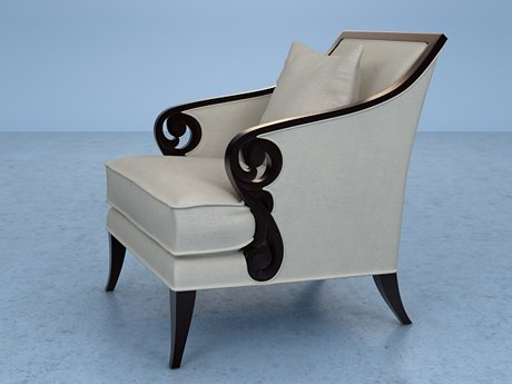 Scroll Armchair 7