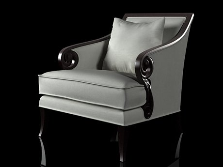 Scroll Armchair 9