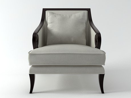 Scroll Armchair 3