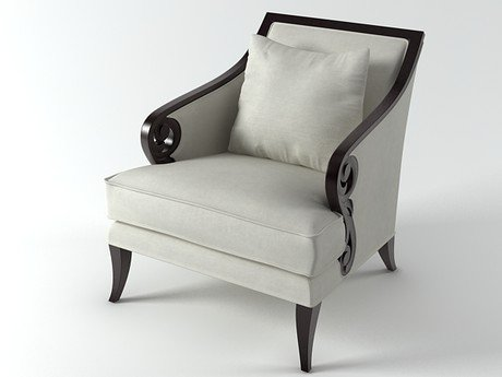 Scroll Armchair 4