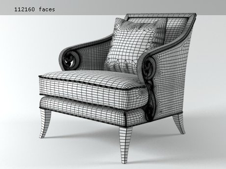 Scroll Armchair 10