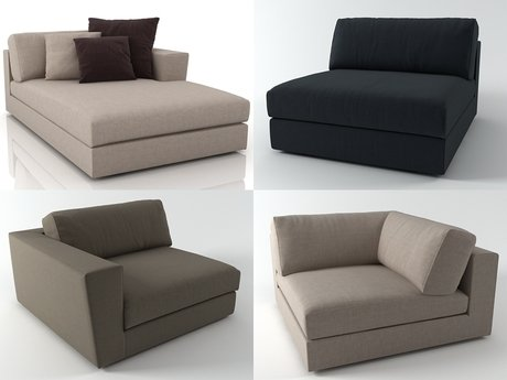 Canyon sofa system 1
