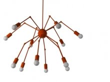 Octopus Double  Chandelier