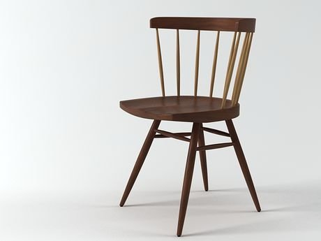 Nakashima Straight Chair 1