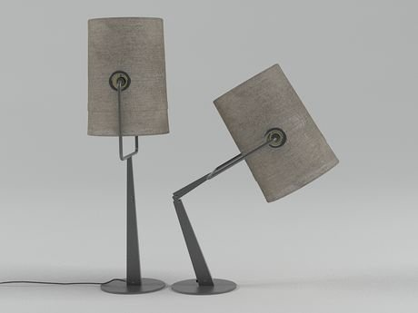 Fork table lamp 3