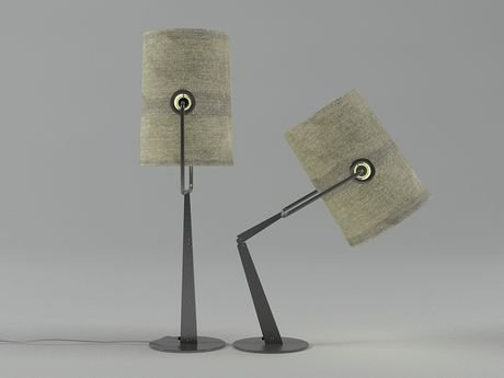 Fork table lamp 2