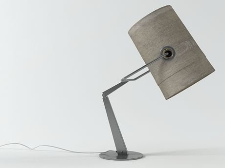 Fork table lamp 1