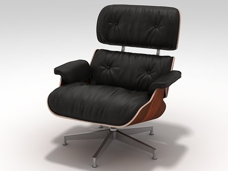 Eames Lounge Chair and Ottoman 16
