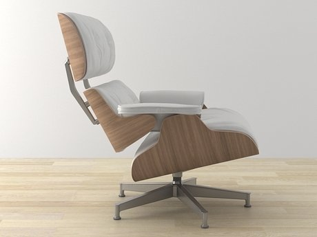 Eames Lounge Chair and Ottoman 23