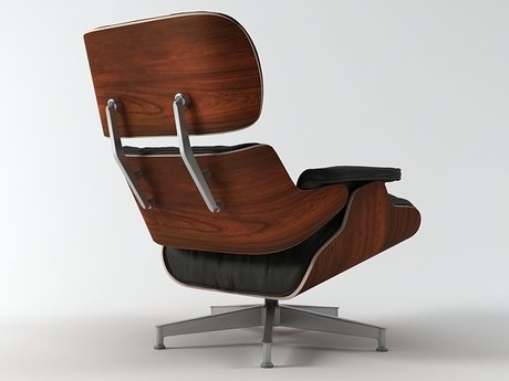 Eames Lounge Chair and Ottoman 20