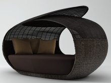Spartan Daybed Open Weaved Top