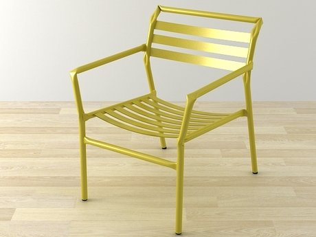 Straw lounge chair 14