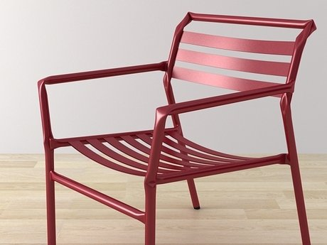 Straw lounge chair 7