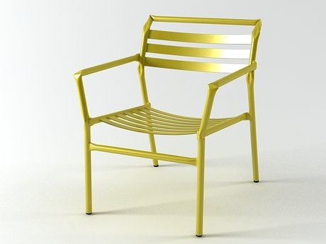 Straw lounge chair 11