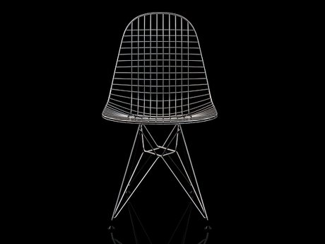 Wire Chair DKR 17