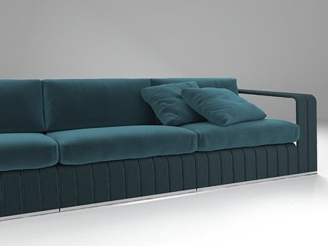 Frame 3-seat sofa 15