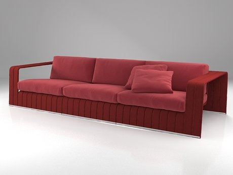 Frame 3-seat sofa 8