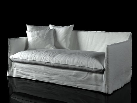 gervasoni ghost 15 sofa 3d model paola navone. Black Bedroom Furniture Sets. Home Design Ideas