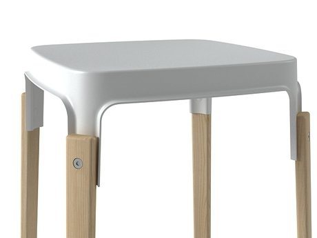 Steelwood  stool 4