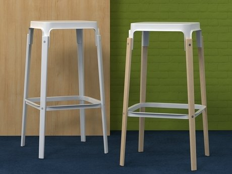 Steelwood  stool 3