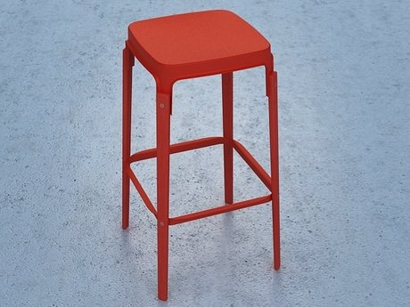 Steelwood  stool 6