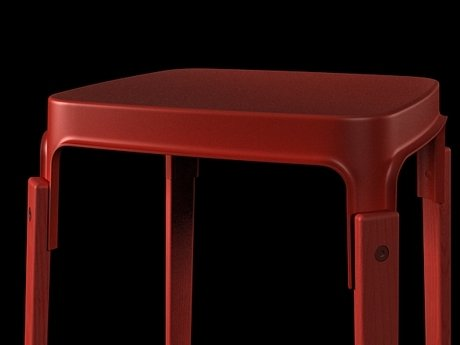 Steelwood  stool 10