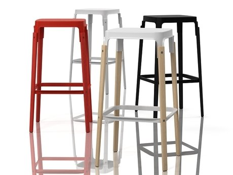 Steelwood  stool 1