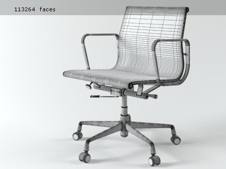 Aluminium chair 117 21