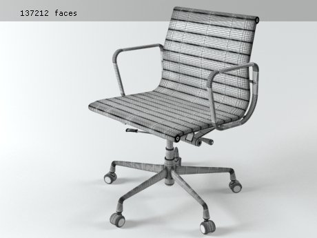 Aluminium chair 117 20