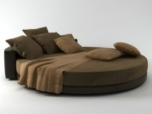 Glamour bed