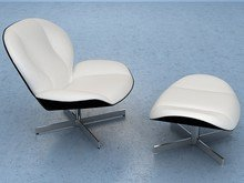 Myo Chair and Footstool