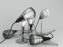 Cage Table Lamp