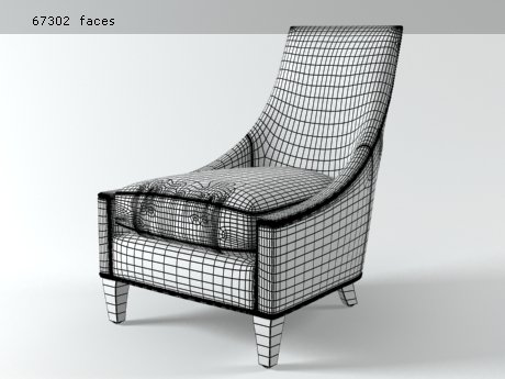 Bel-Air lounge chair 17