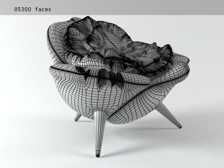 Rose chair 8
