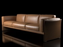 405 Duc 3-seater sofa