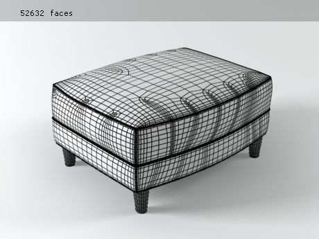 Tuileries ottoman 3