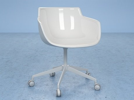Flow armchair 5-star base 16