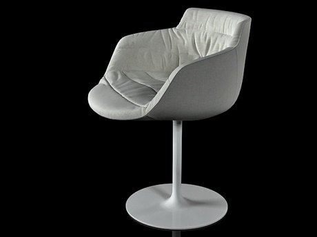 Flow armchair-central leg 9
