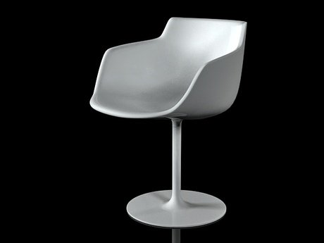 Flow armchair-central leg 21