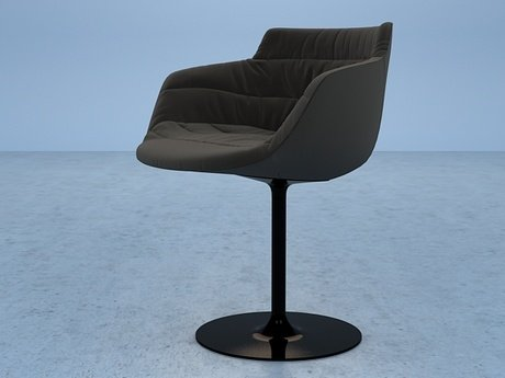 Flow armchair-central leg 14