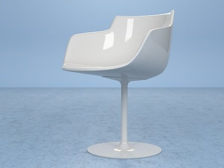 Flow armchair-central leg 20