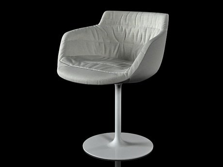 Flow armchair-central leg 7