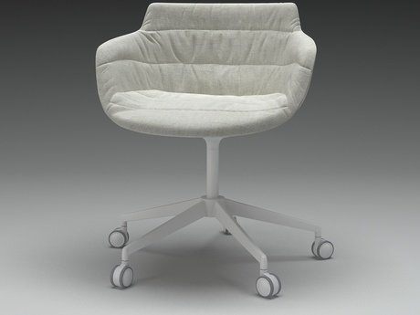 Flow armchair 5-star base 12