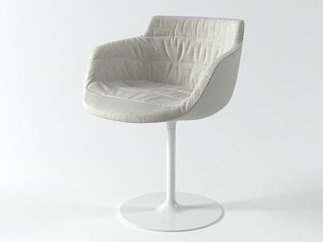 Flow armchair-central leg 3