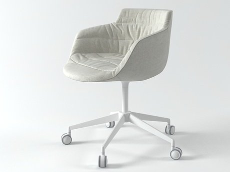 Flow armchair 5-star base 7