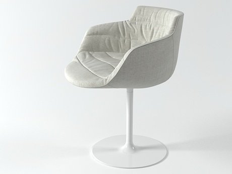 Flow armchair-central leg 5