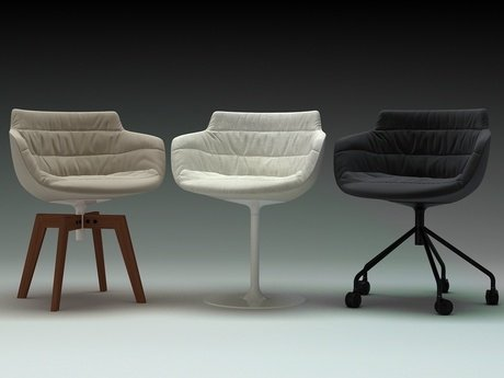 Flow armchair-central leg 16