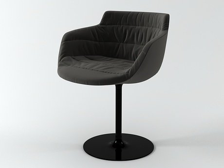 Flow armchair-central leg 11