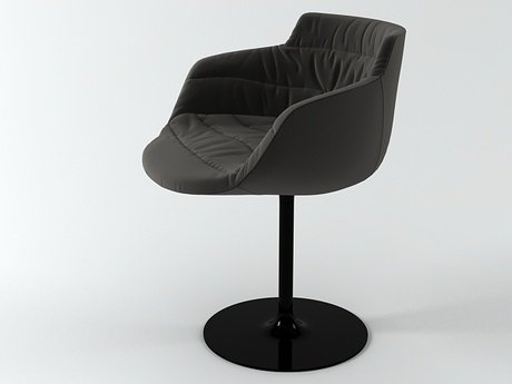 Flow armchair-central leg 13